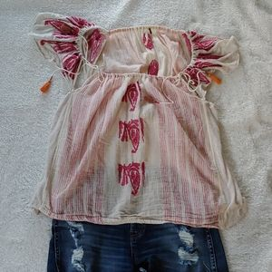 FREE PEOPLE TOP SZ SMALL SO CUTE SZ S
